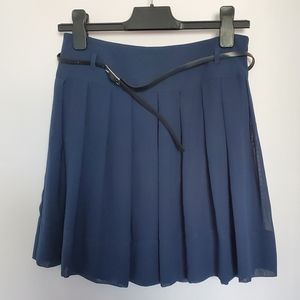 NWT Etam Navy blue mini skirt sz 6